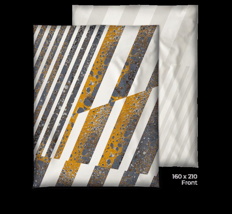 Bio-Bettwäsche Deckenbezug whitestripes